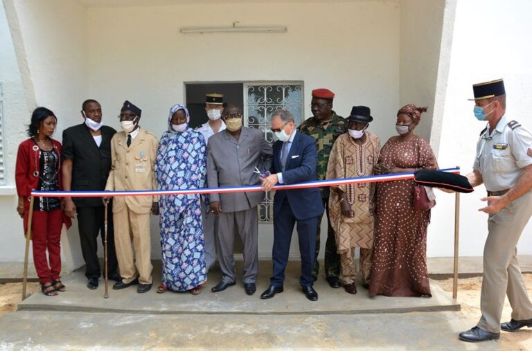 Tchad – France : inauguration de l'Office National des Anciens Combattants et Victimes de Guerre