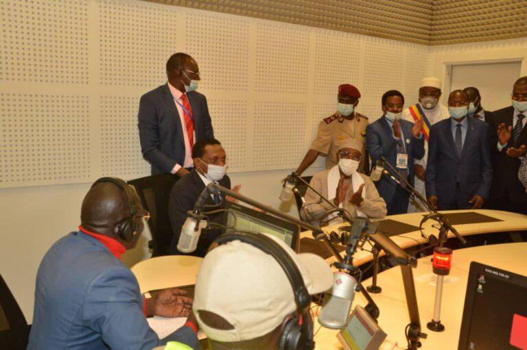 Inauguration siège ONAMA: « c'est un outil extrêmement important pour amener  les Tchadiens à changer dans le bon sens », Idriss Deby Itno