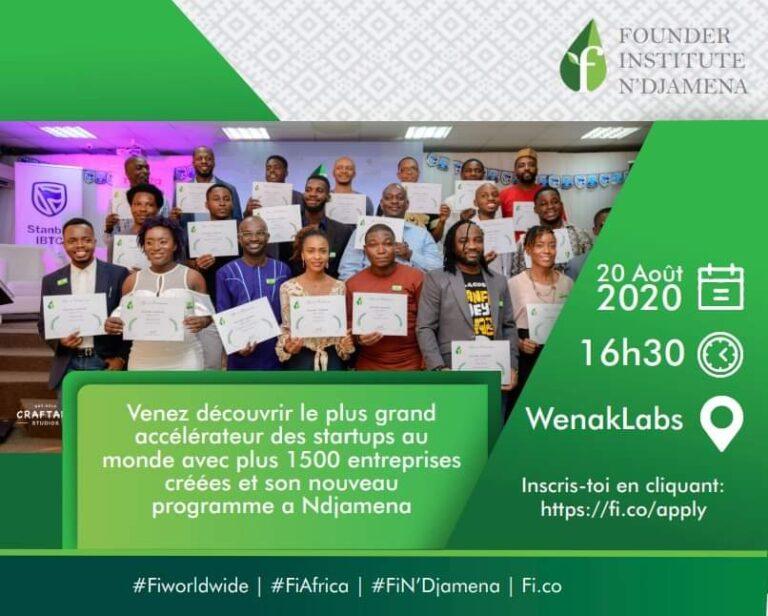 Tchad : participez au programme d'accélération ''The Fonder Institute''