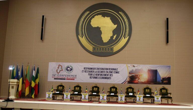 Cémac : la 14e Conférence des chefs d'Etat s'ouvre aujourd'hui à N'Djamena