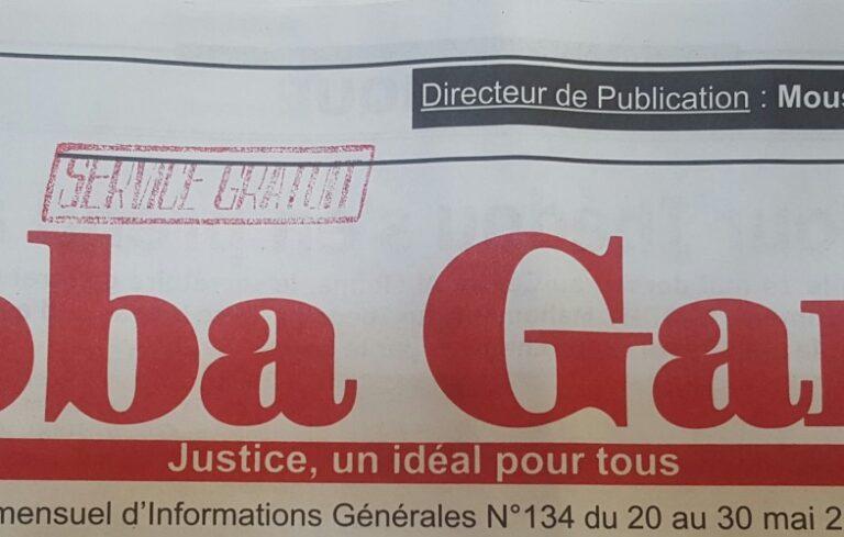 Tchad : le journal Abba Garde autorisé  par la HAMA à reparaître