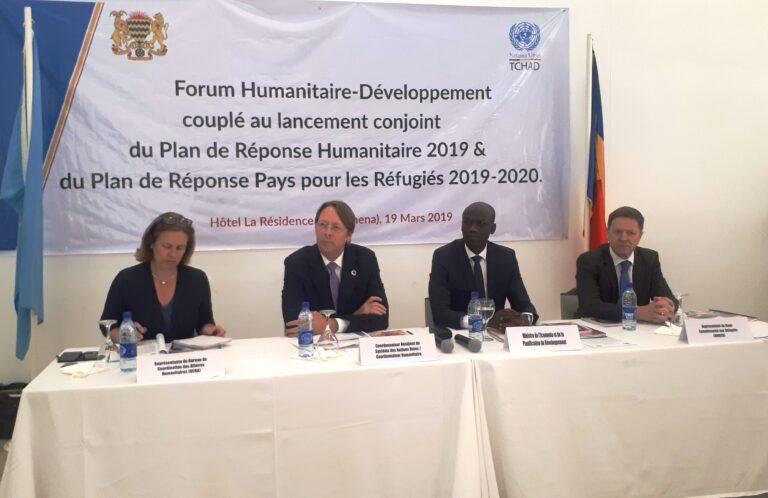 Tchad : les plans de réponse humanitaire et des réfugiés 2019 sont lancés