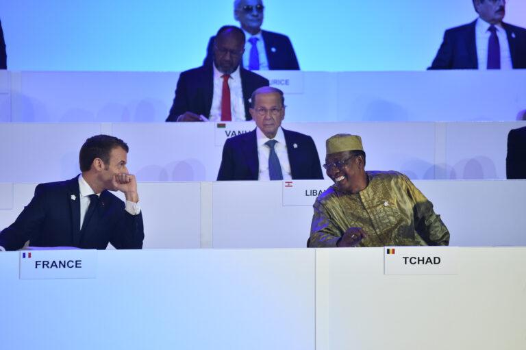 Sommet Francophonie : la sécurité au centre du tête-à-tête entre Deby et Macron