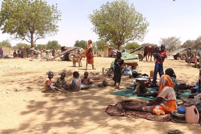 Près de 2000 Soudanais trouvent refuge au Tchad après des affrontements dans le Darfour