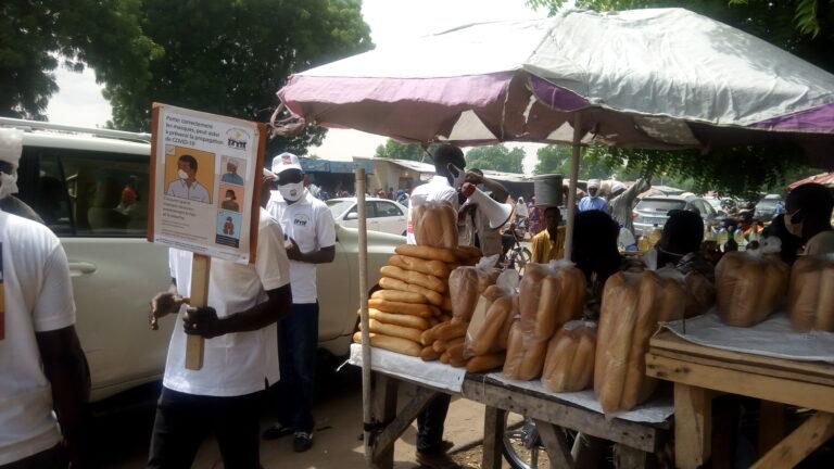 Coronavirus: l'ADC en sensibilisation dans les marchés de Koundoul