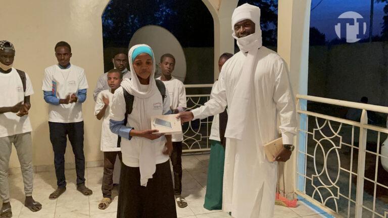 Am-Timan : 10 élèves, lauréats d'un jeu-concours organisé par l'Adetic