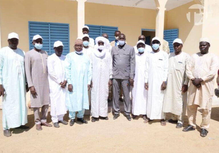 Massenya : signature d'un accord entre l'Adetic et les autorités locales pour la construction d'un centre communautaire multimédia