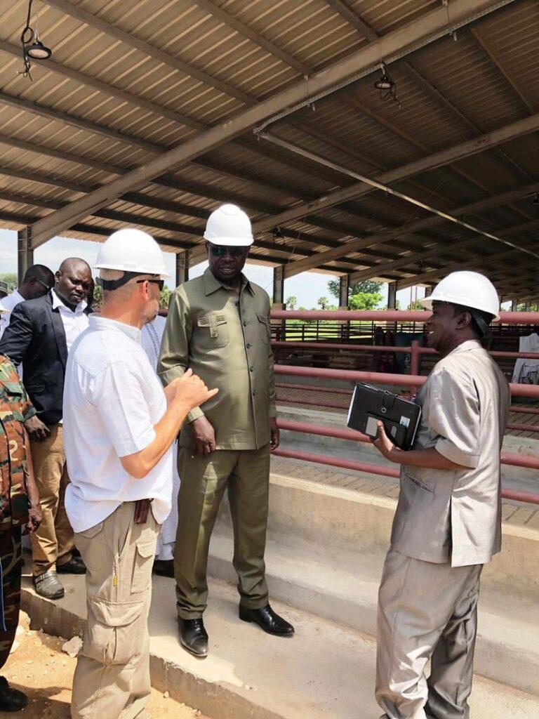 Tchad : les travaux de construction de l'abattoir moderne de Moundou exécutés à plus de 83 %