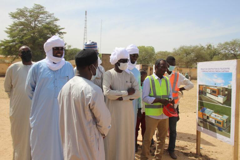 Tchad : lancement des travaux de construction d'un centre multimédia  à Am-timan