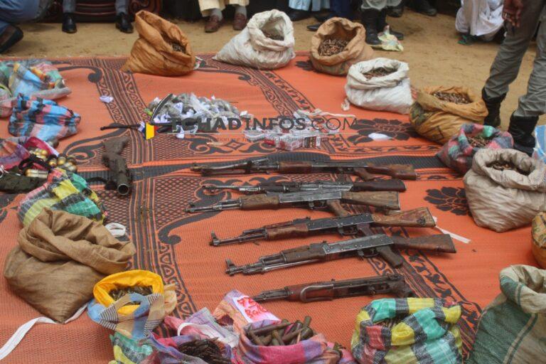 VIDEO: plusieurs détenteurs d'armes et de munitions arrêtés