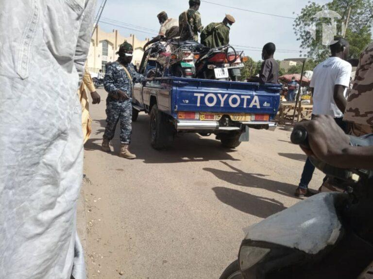 Tchad : La Commission mixte fait la chasse aux motocyclistes sans cache-nez