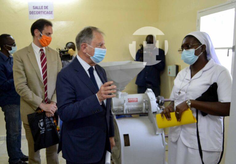 تشاد: إفتتاح وحدة إنتاج الدقيق المخصب داخل مستشفى (Notre Dame des Apôtres)