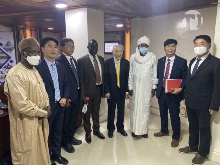 Industries animales : le Ministre Ahmat Bachir, échange avec des investisseurs coréens