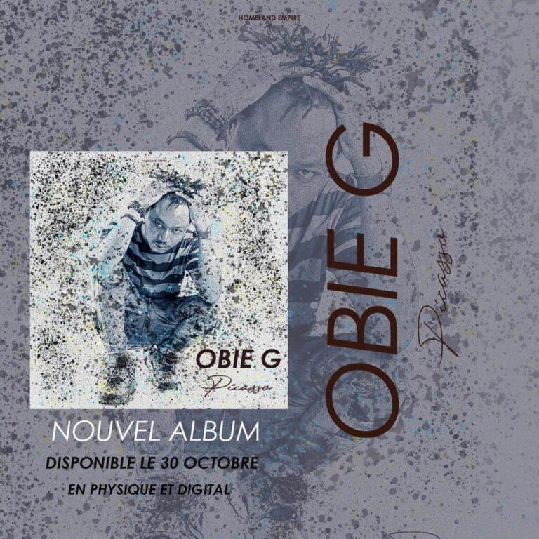 """""""Picasso"""":  l'album du rappeur Obie G sur le marché"""