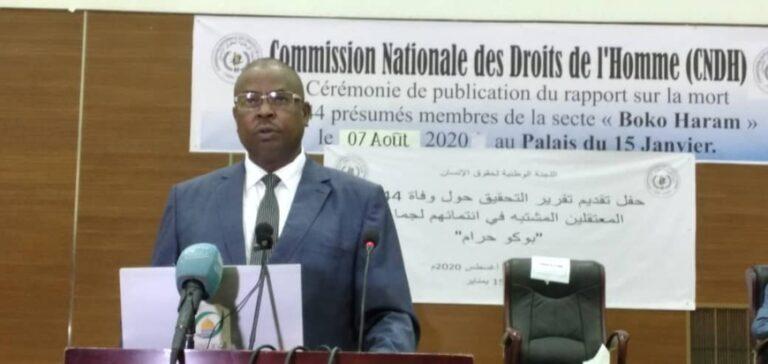 Tchad : destitué par 8 commissaires, le président de la Commission nationale des droits de l'homme Djidda Oumar contre-attaque