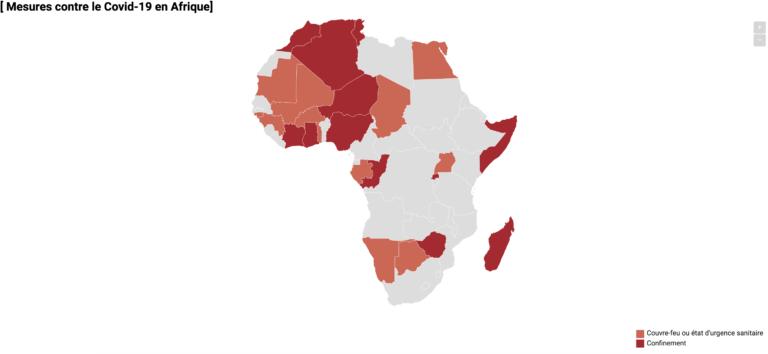 Coronavirus : voici la situation dans les pays voisins