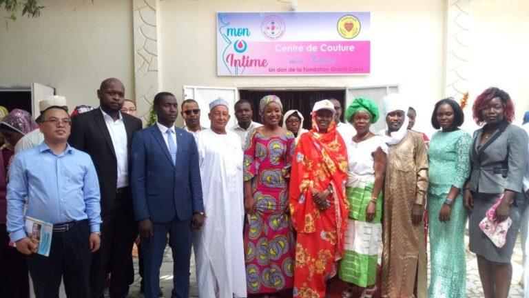 Société : la Fondation Tchad Helping Hands ouvre son centre de couture ''Mon intime''