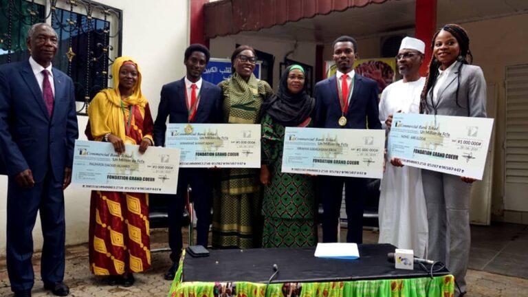 Tchad : les 4 lauréats de la coupe panafricaine de débat honorés par la fondation Grand cœur