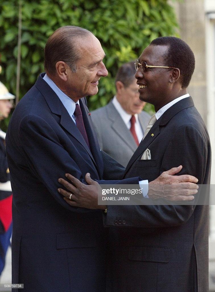Décès de Jacques Chirac : Déby salue la mémoire d'un homme d'Etat