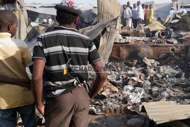Tchad : le marché de Dembé ne dispose pas d'issue de secours