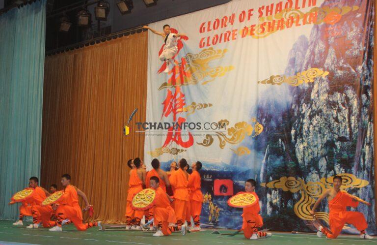 Culture: spectacle de Kungfu de Shaolin à N'Djamena