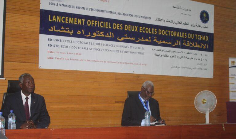 Tchad : le ministère de l'Enseignement supérieur ouvre deux écoles doctorales