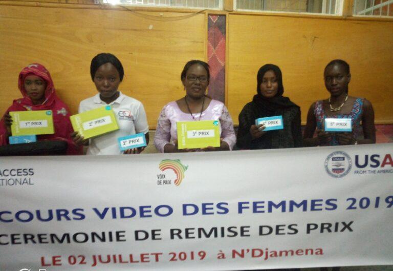 Tchad : Equal access récompense les lauréates de son concours vidéo