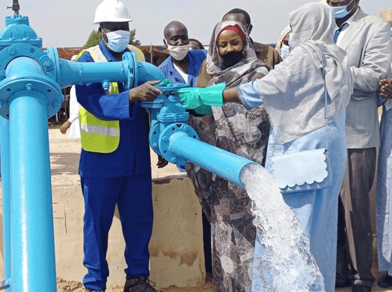 Tchad : De l'eau potable pour La population de Guinebor