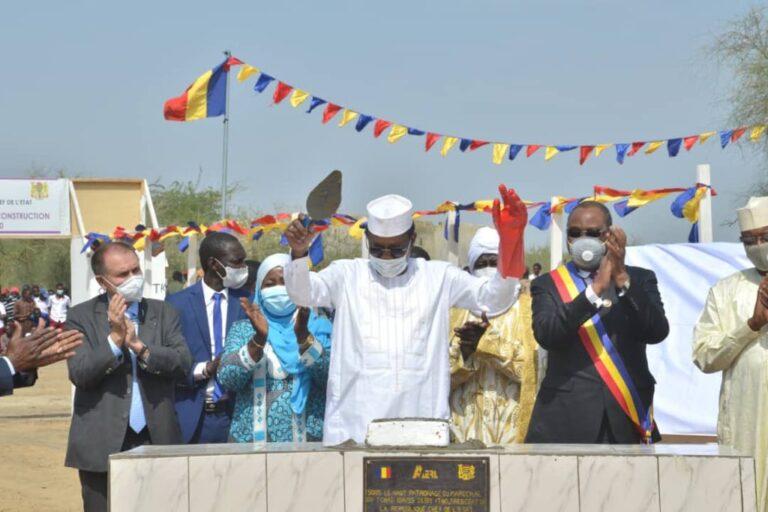 تشاد: رئيس الجمهورية يضع حجر أساس لدعم الطاقة الكهربائية في العاصمة