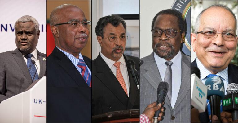Diplomatie tchadienne : Les Cinq Mousquetaires
