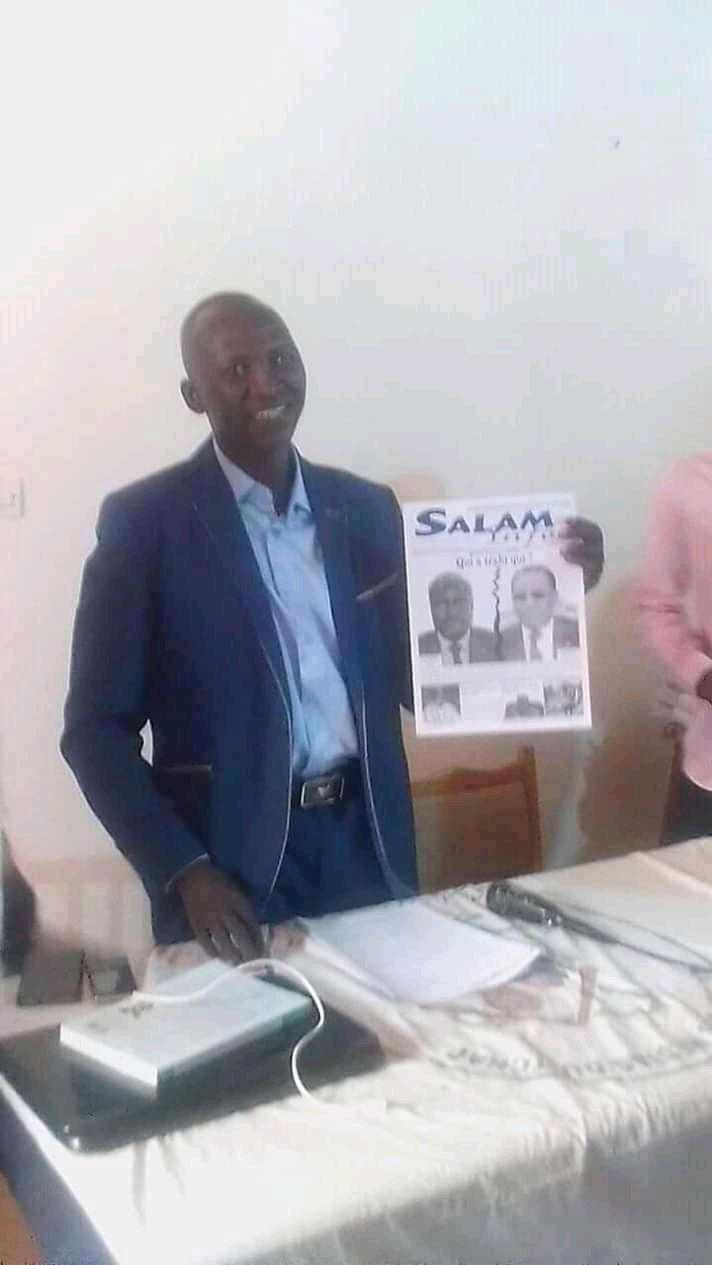 Tchad : mise en liberté provisoire du journaliste Martin Inoua Doulgué