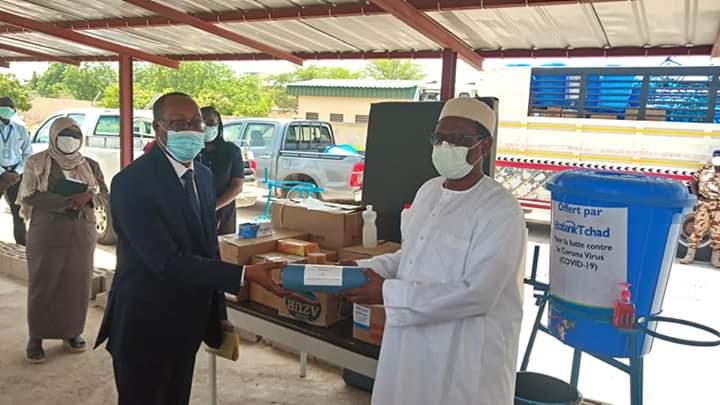 Coronavirus : Ecobank Tchad soutient le ministère de la Santé