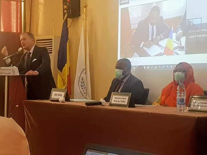 Coronavirus : une plateforme E-learning pour les énarques du Tchad