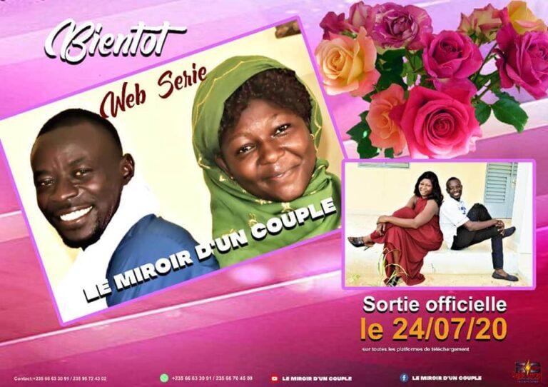 """Cinéma : """"Le miroir d'un couple"""", la web-série qui raconte le Tchad"""