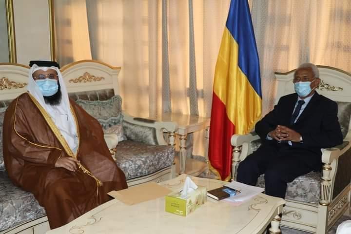 تشاد: وزير الخارجية يستقبل القائم بأعمال السفارة القطرية في البلاد