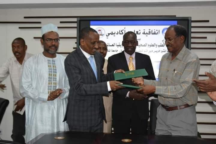 السودان/تشاد: توقيع إتفاقية تعاون بين جامعتي فيصل وأفريقيا