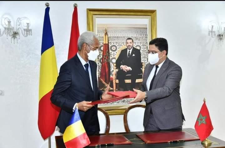 المغرب/تشاد: توقيع عدة إتفاقيات بين البلدين