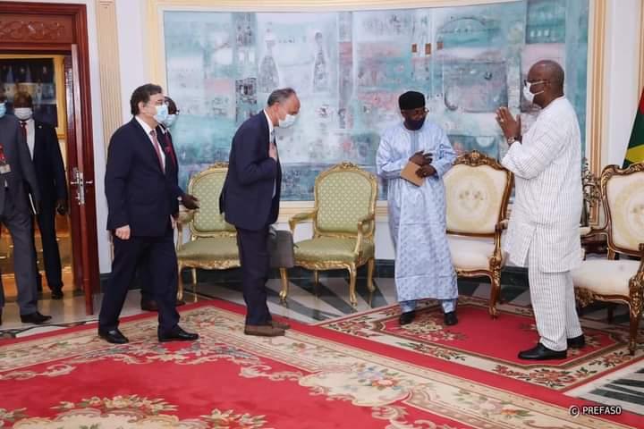 G5 Sahel: le président burkinabè reçoit Djimet Adoum, le haut représentant de la Coalition pour le Sahel
