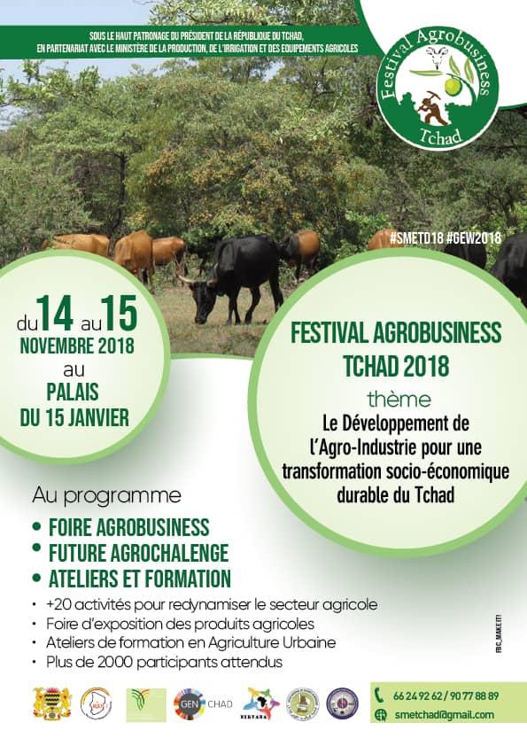 Tchad : le Festival Agrobusiness pour des approches novatrices en matière de sécurité alimentaire et nutritionnelle