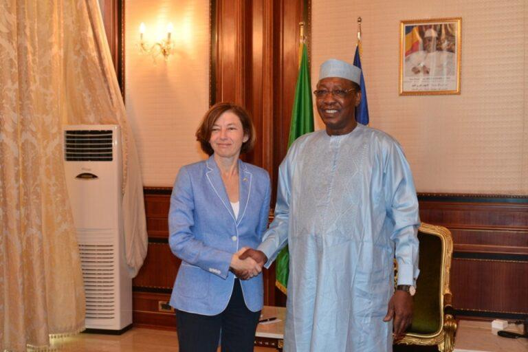 Tchad/France: la visite éclaire de Florence Parly à N'Djamena