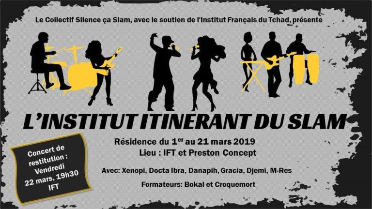 Culture : Une résidence de Slam à N'Djamena