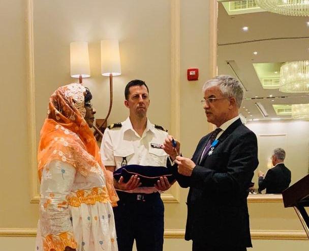 Tchad : Mariam Mahamat Nour distinguée par la France Officier  de l'ordre national du mérite