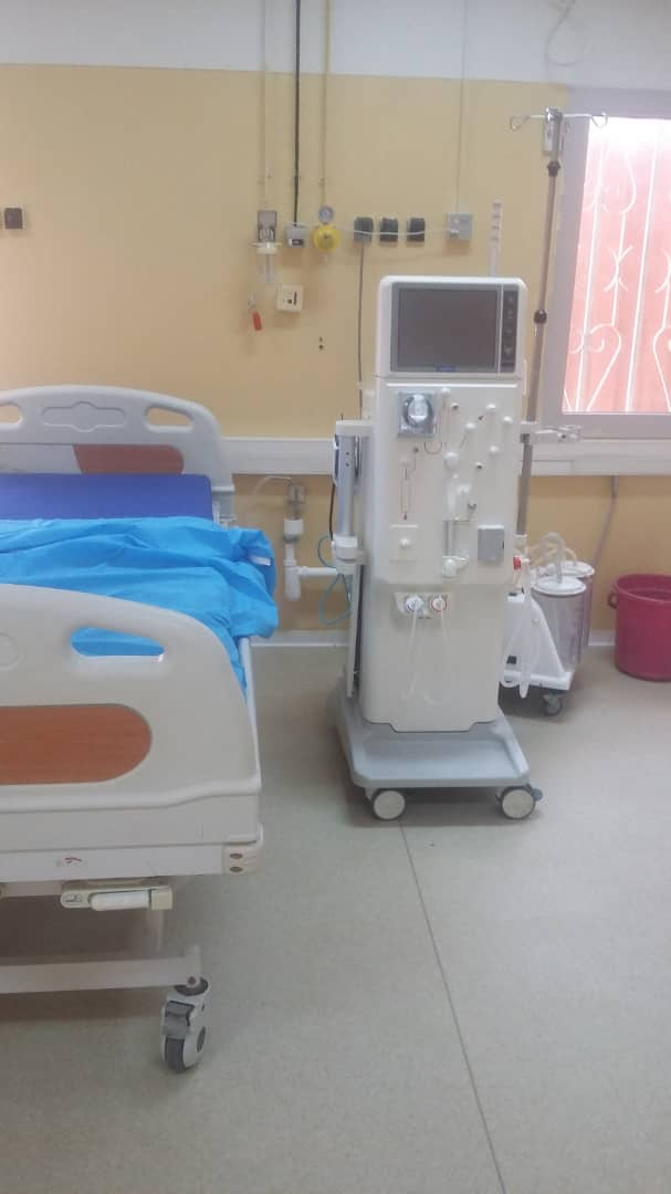 Tchad : l'unité d'hémodialyse de l'HGRN manque de produits