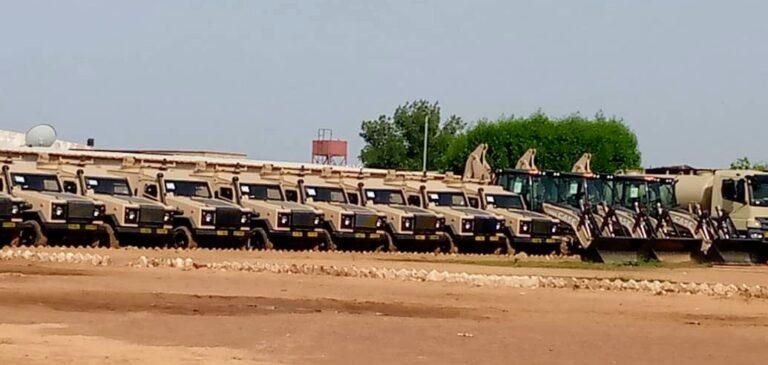 Tchad-USA: le gouvernement américain offre 55 véhicules au contingent Tchadien du G5 Sahel