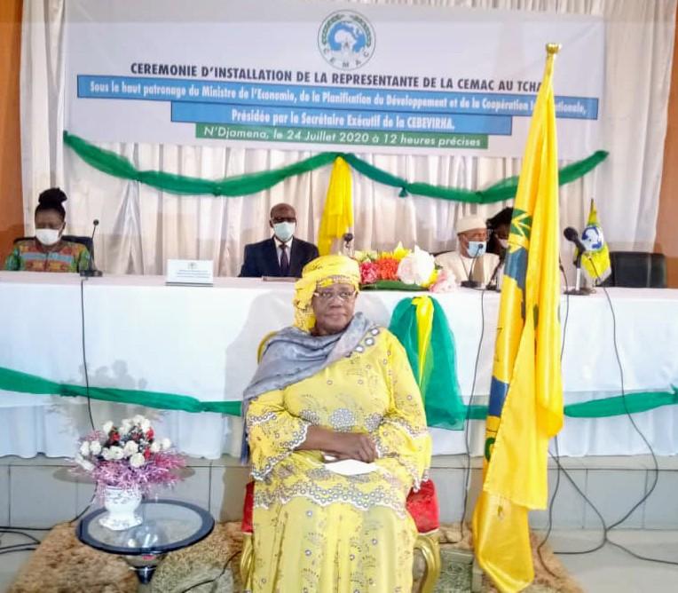 Cémac : Mme Ngarbatinan Sou IV installée officiellement comme Représentante du Tchad