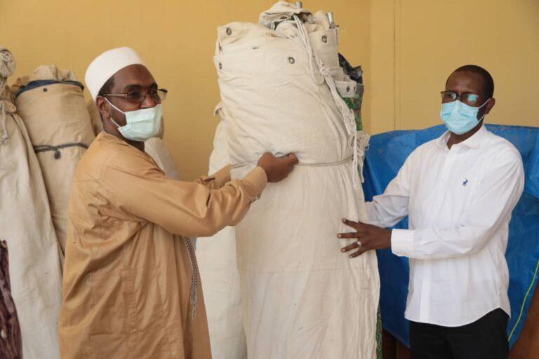 Tchad : Bolloré offre 10 tentes au ministère de la santé publique