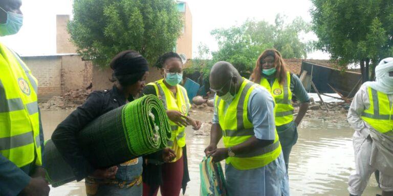 Tchad : le CERJ/MPS soutient les victimes de l'inondation