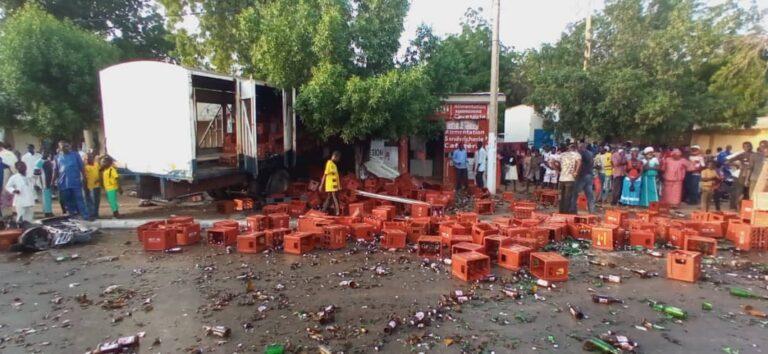 Faits Divers : au moins un mort et plusieurs blessés après un accident sur l'avenue Mobutu à N'Djaména