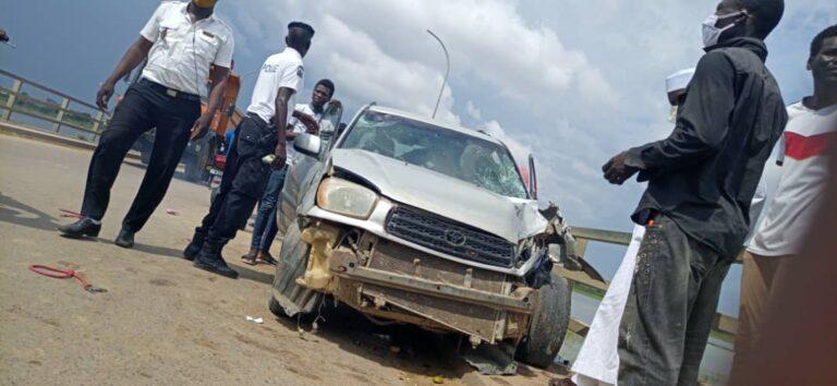 Faits divers : Accident grave sur le pont à double voie de N'Djaména