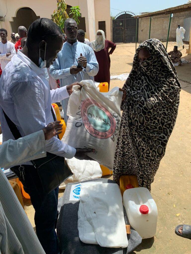 Tchad: l'ONASA et ses partenaires assistent les victimes des inondations